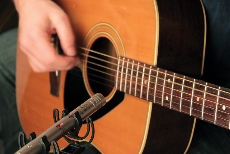 A simple way to record acoustic guitar in stereo - 4 of 5