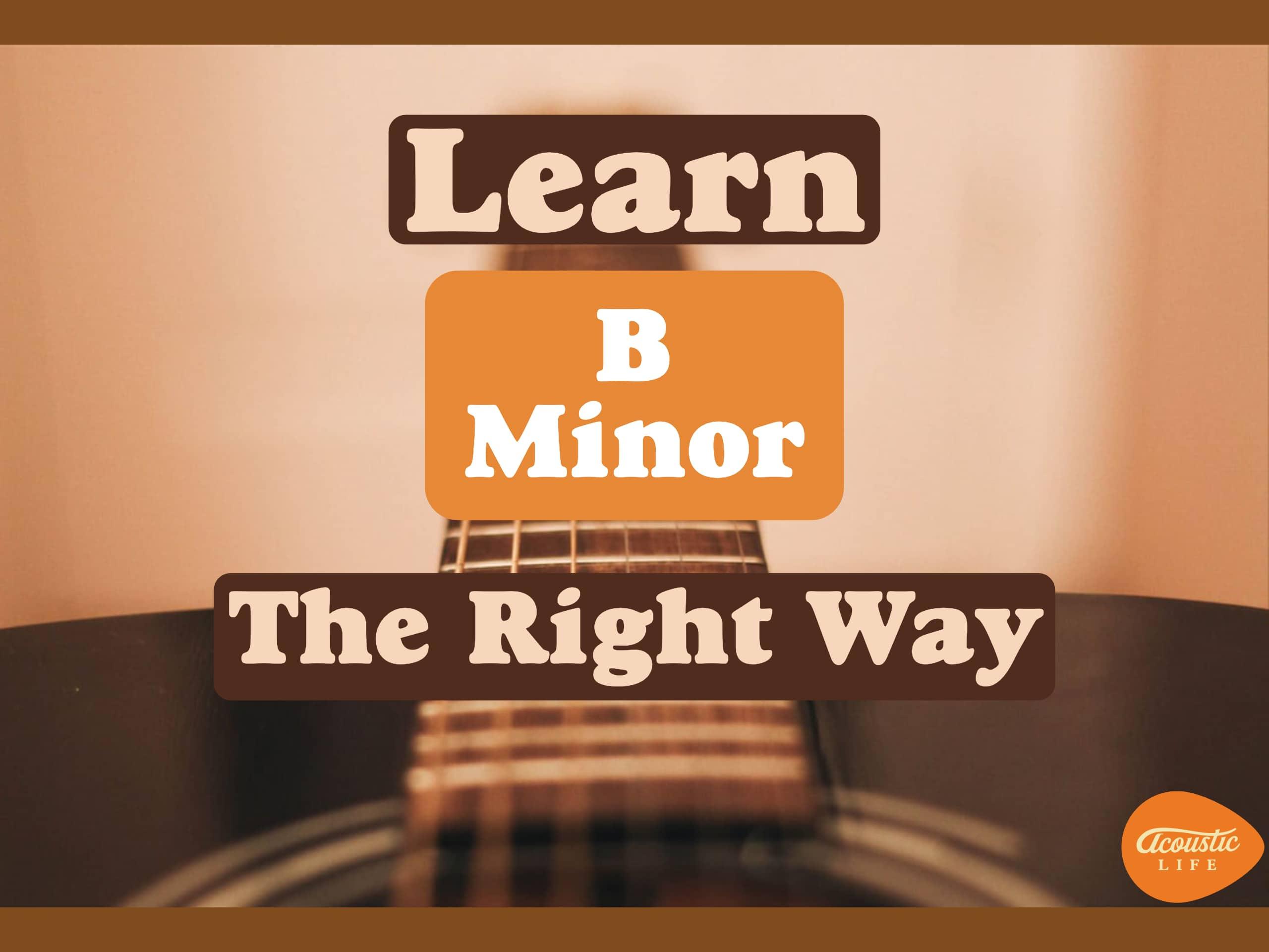 Bm chord guitar