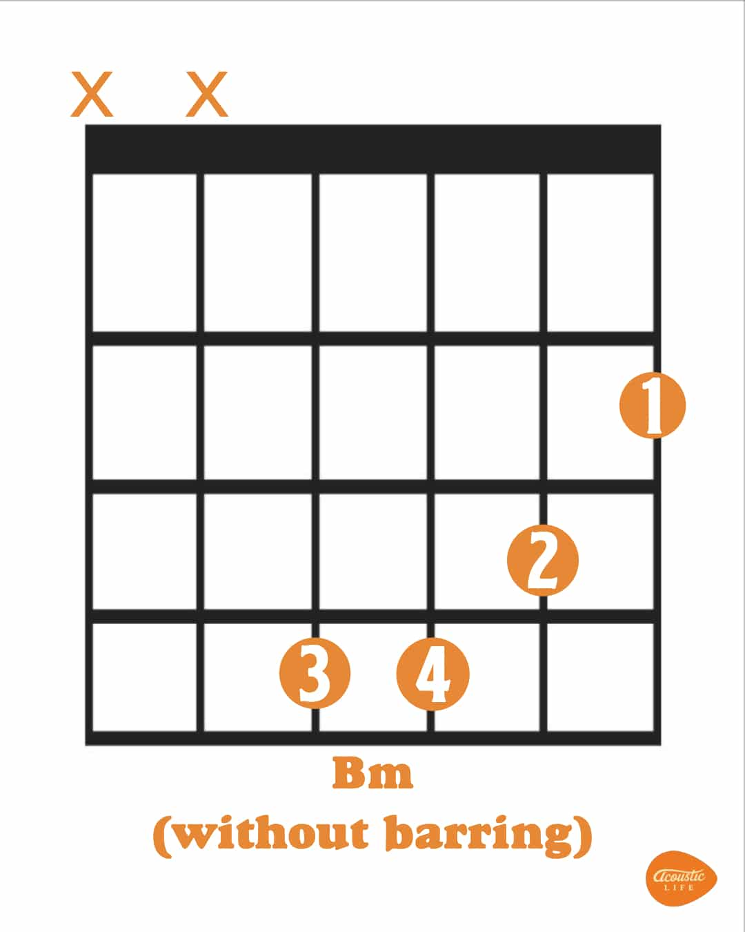 Bm Chord for Beginners [Exercises and EASIER Versions]   Acoustic Life